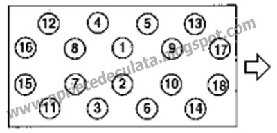 Apriete de Culata: APRIETE DE CULATA NISSAN B440 y B660