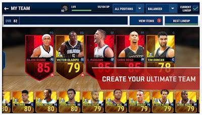 NBA Live Mobile Terbaru