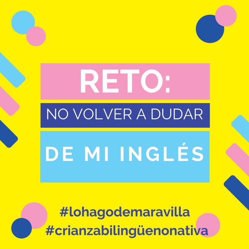 hablar en inglés no nativo con hijos