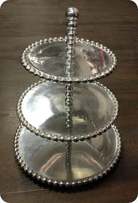 Silver Cakes Stand