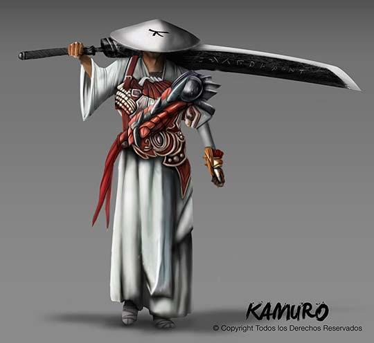 Ilustración, Elfo de Jefferson Caballero aka Kamuro