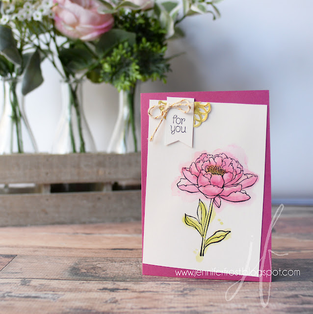 You've Got This, Stampin' Up! New In-Colour Berry Burst, Lemon Line Twist Combination, Fancy Friday, Papercraft by Jennifer Frost, Cardmaking classes Bendigo