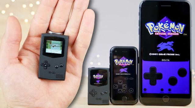 Konsol Game Kecil PocketSprite
