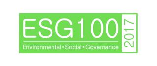 2017 List of ESG100 Companies
