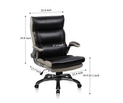 PTO Furniture Exclusive Office Chair Flip-up Armrests Ergonomic Computer Chair