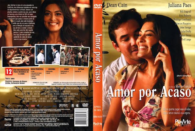 Capa DVD Amor por Acaso