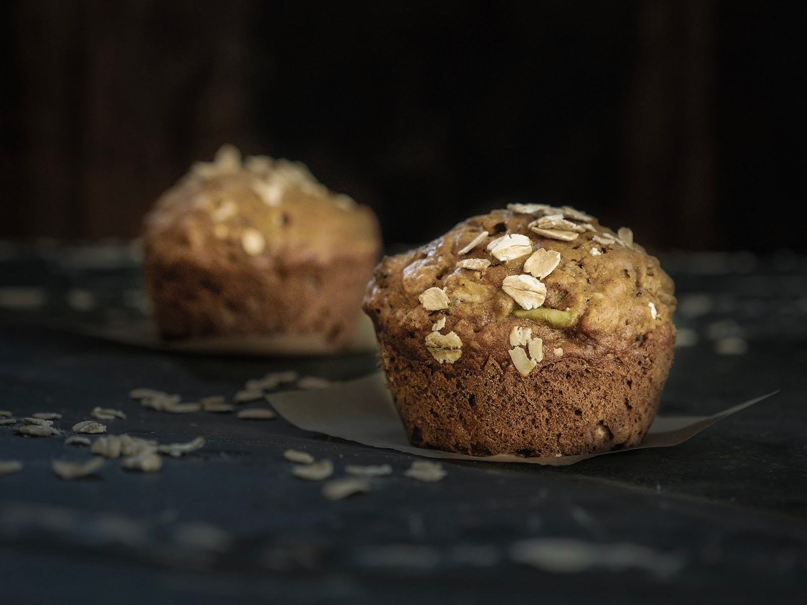 Local Food Rocks: Apple Chia Muffins