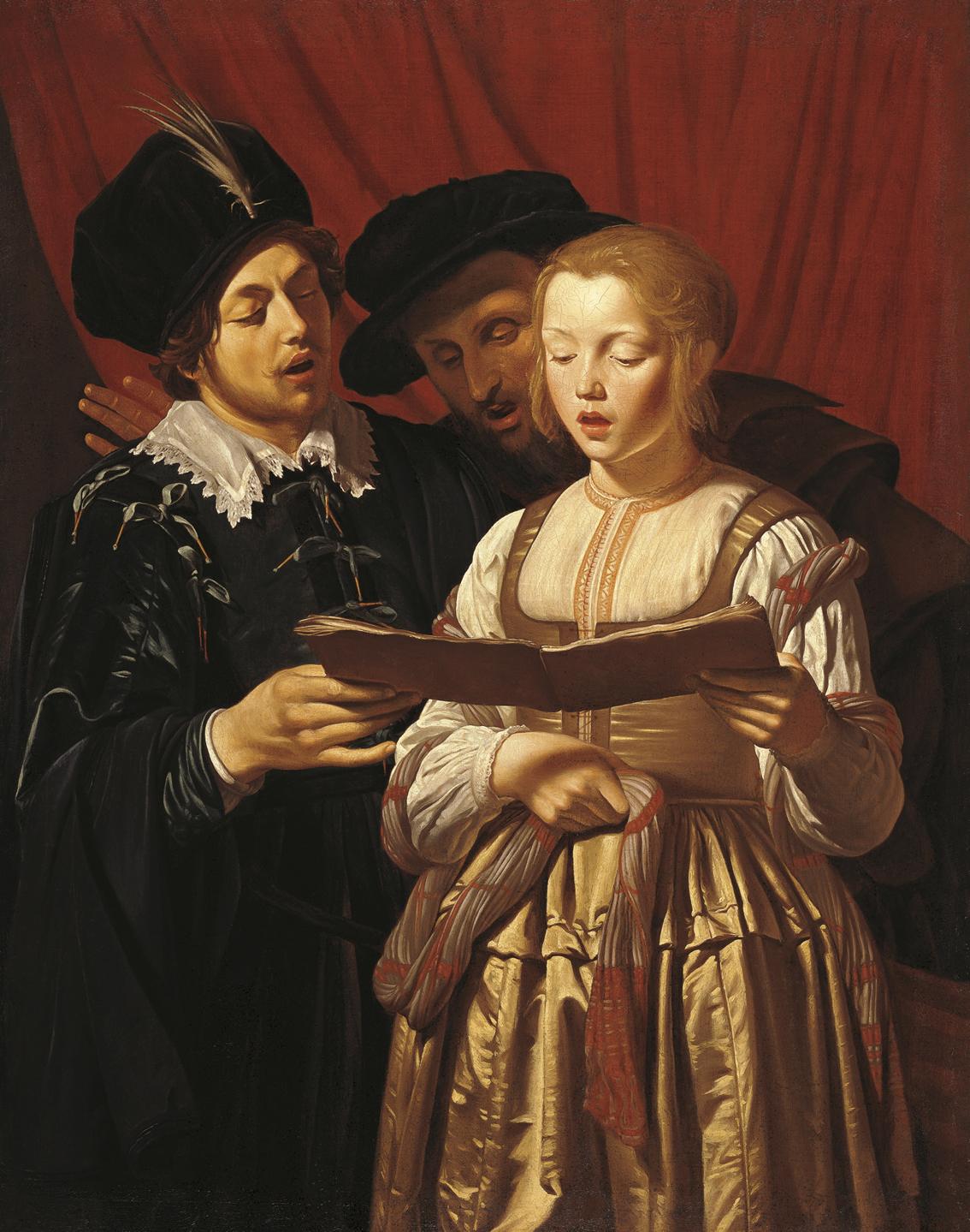 Adam de Coster -A Baroque Era Genre Painter