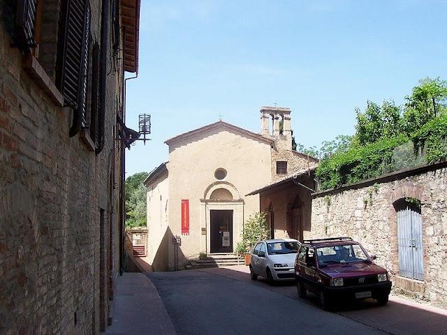 Chiesa del Quercecchio em San Gimignano