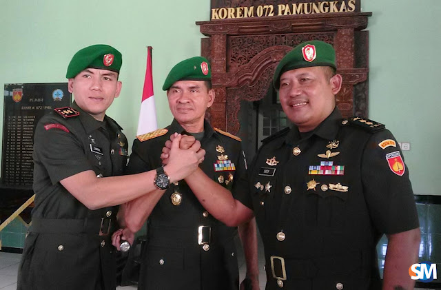 Letkol Zamril Philiang Resmi jadi Dandim Kebumen