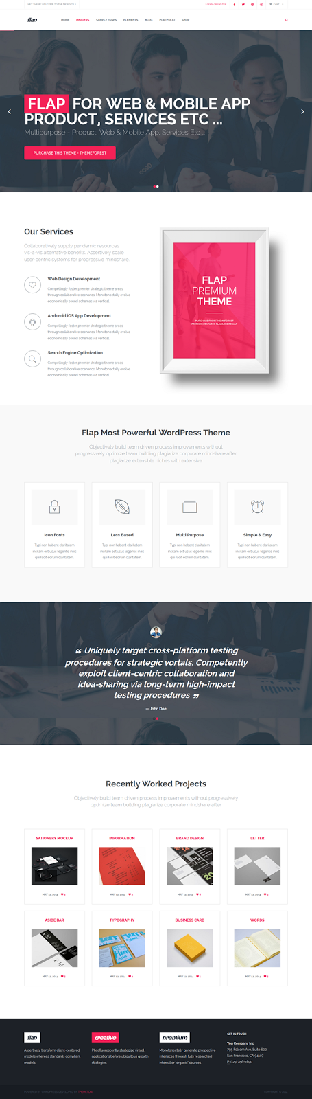 Responsive Business WP Theme