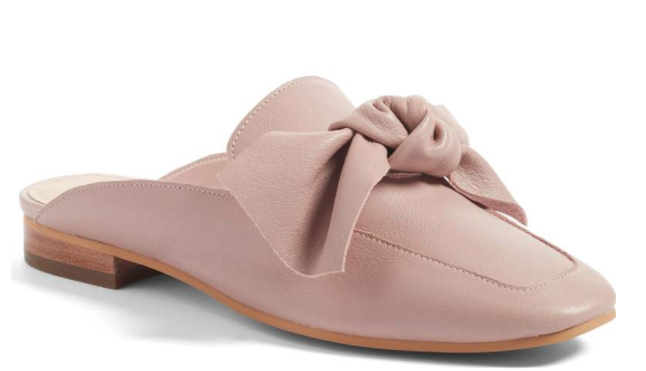 Pink Bow Loafers