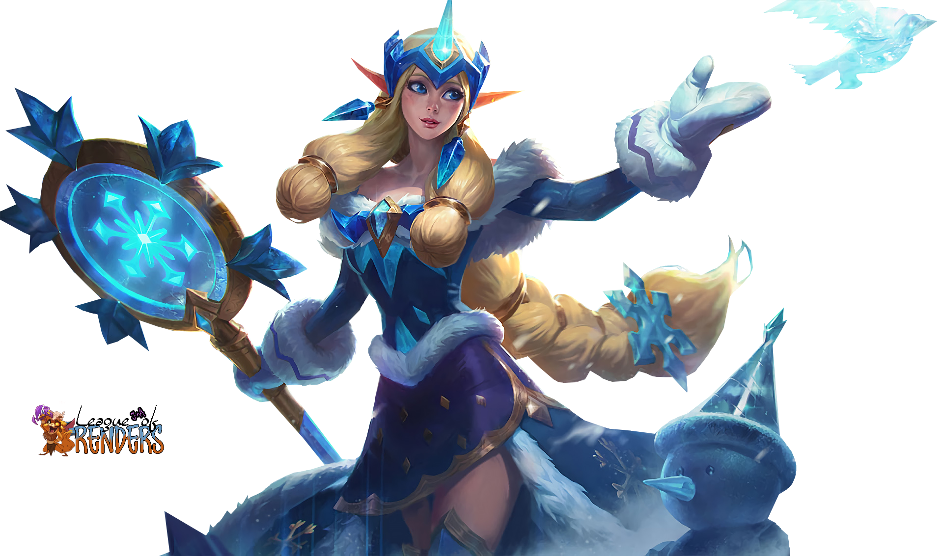 RENDER SKIN Winter Wonder Soraka