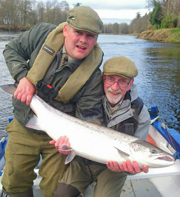 Salmon Fishing Scotland Tay, Perthshire Salmon fishing report w/e 18th March 2017.