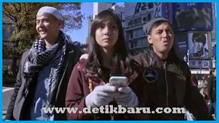 Dion Wiyoko Nasya Marcella Dan Kemal Palevi di Film Abdullah V Takeshi