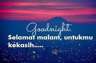 ucapan selamat malam singkat buat pacar
