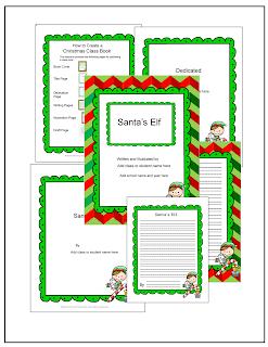 Elf Antics December Calendar and Writing - Primary ...