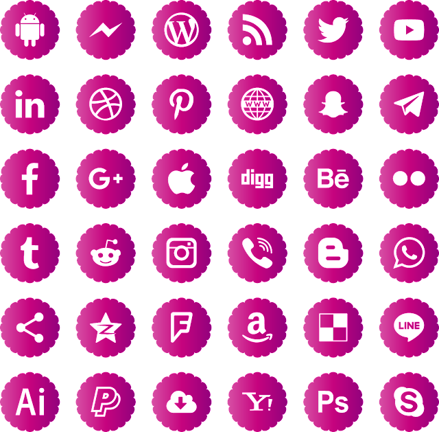 download icons logos social media svg eps png psd ai vector color free #logo #social #svg #eps #png #psd #ai #vector #color #free #art #vectors #vectorart #icon #logos #icons #socialmedia #photoshop #illustrator #symbol #design #web #shapes #button #frames #buttons #apps #app #vectory #network