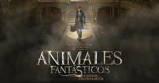 'Animales fantásticos y dónde encontrarlos' ¡Este tío no es Harry Potter!