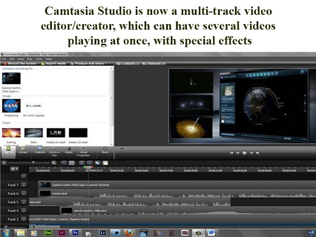 mutli track video in Camtasia