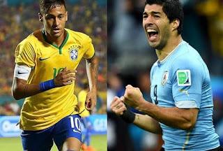 بث مباشر مباراة البرازيل وأوروجواي اليوم الجمعة 16-11-2018 بدون تقطيع في مباراة ودية دولية