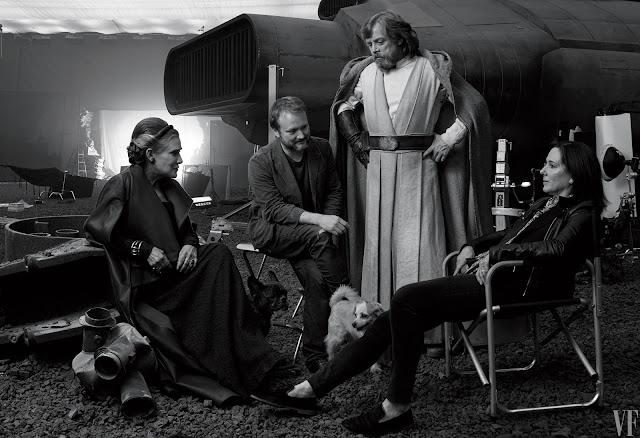 the last jedi behind the scenes
