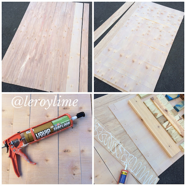DIY Wood Backdrop for your ETSY shop photos - LeroyLime