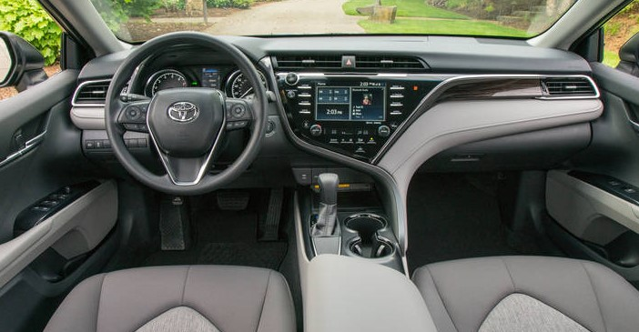 2019 Toyota Camry Hybrid XLE 4dr Sedan Pricing and Options