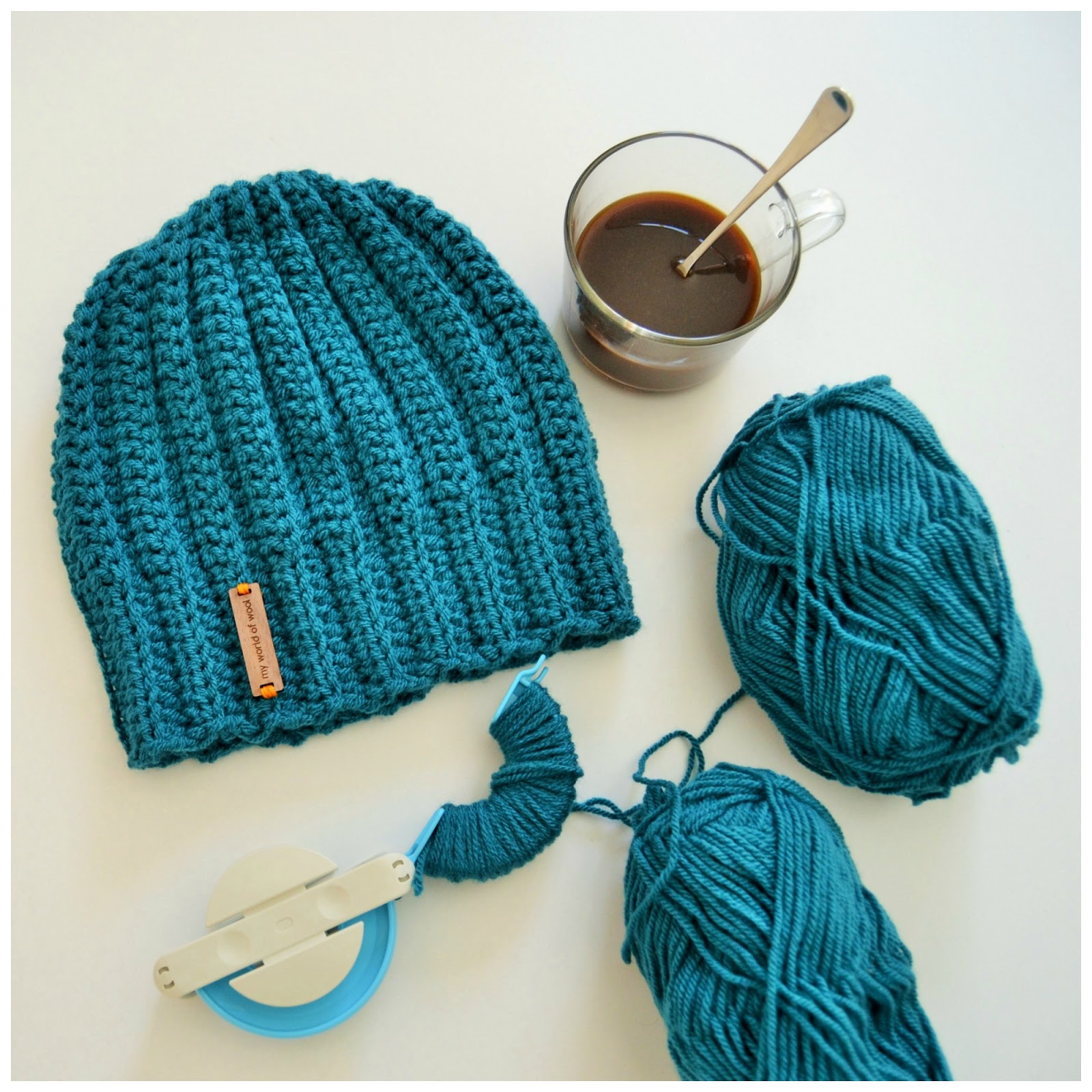 2ef4a6e5567 my world of wool  ribbed crochet hat and Angus   Julia Stone - Heart ...