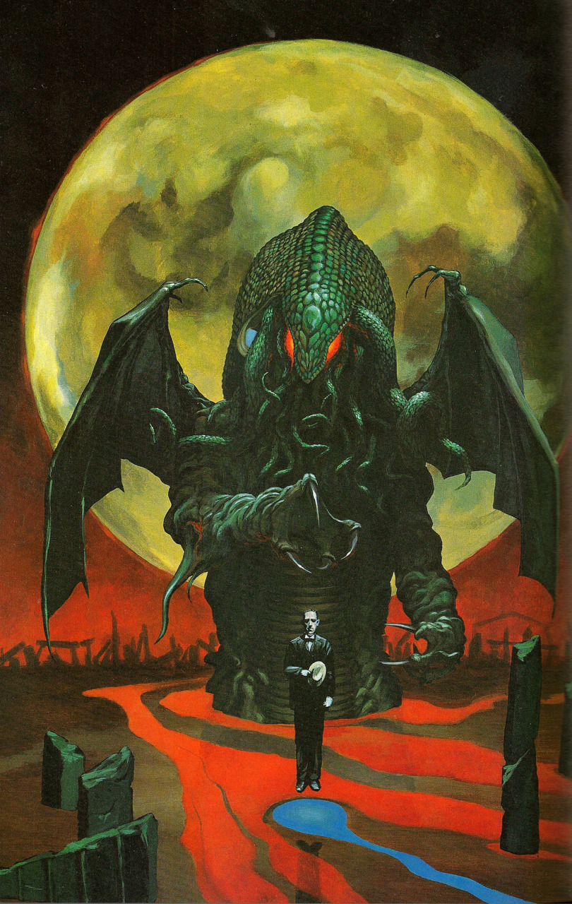 In The Mouth Of Dorkness: Dork Art: HP Lovecraft & Cthulhu