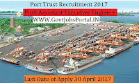 Port Trust Recruitment 2017– Assistant Executive Engineer