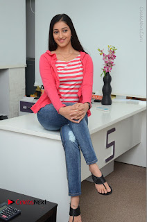 Telugu Actress Mouryani Latest Pos in Blue Denim Jeans  0088.JPG