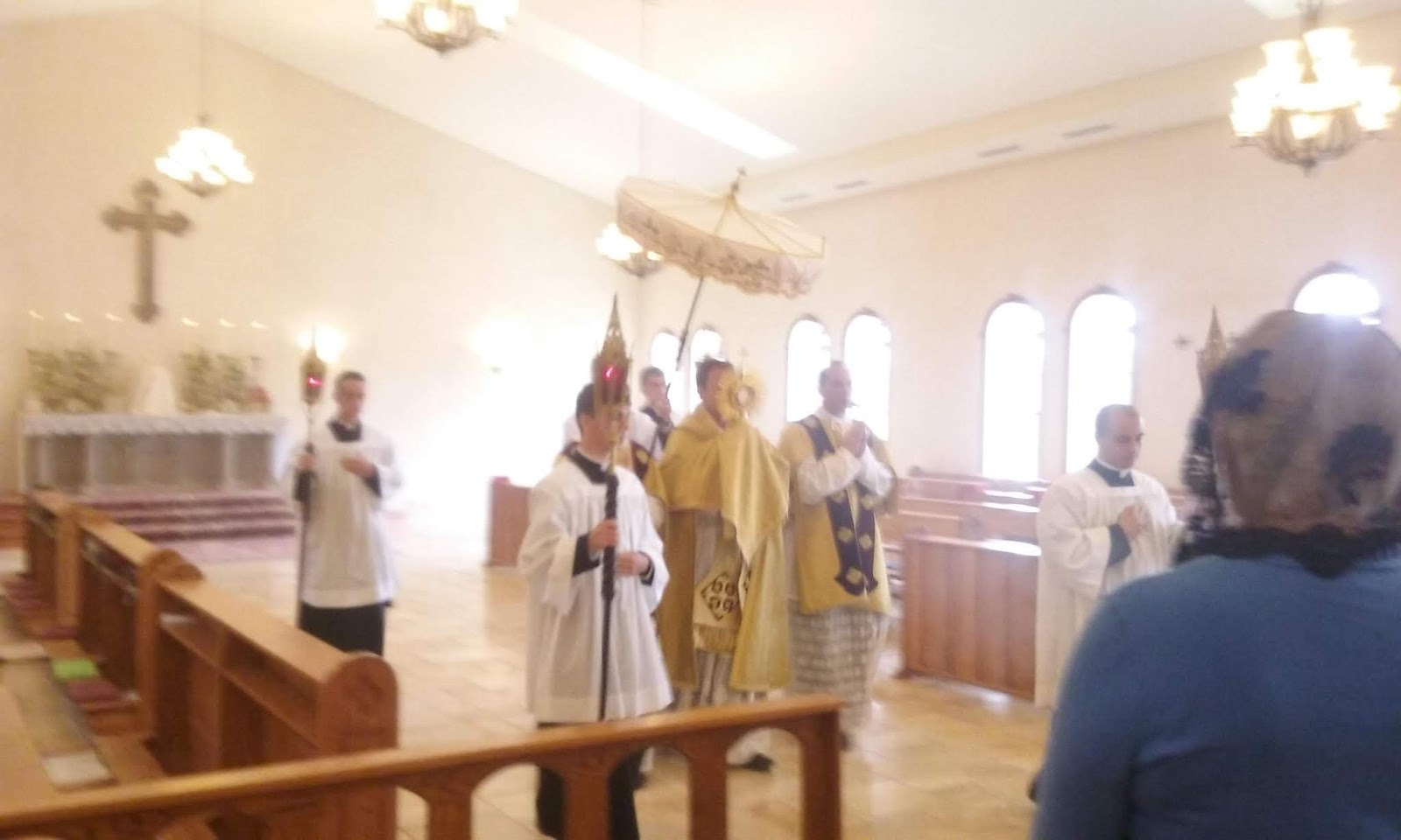 A Catholic Life: Corpus Christi at St  Thomas Aquinas SSPX