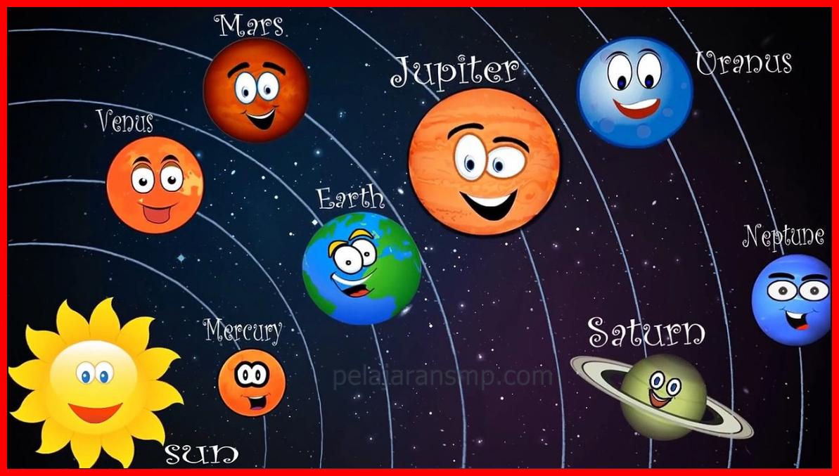 Rangkuman Materi Sistem Tata Surya Planet Gerakan Bumi Gerakan