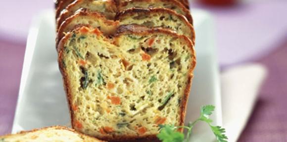 Cake Aux Légumes De Fin D'Été