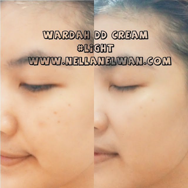 wardah dd cream coverage test nellanelwan