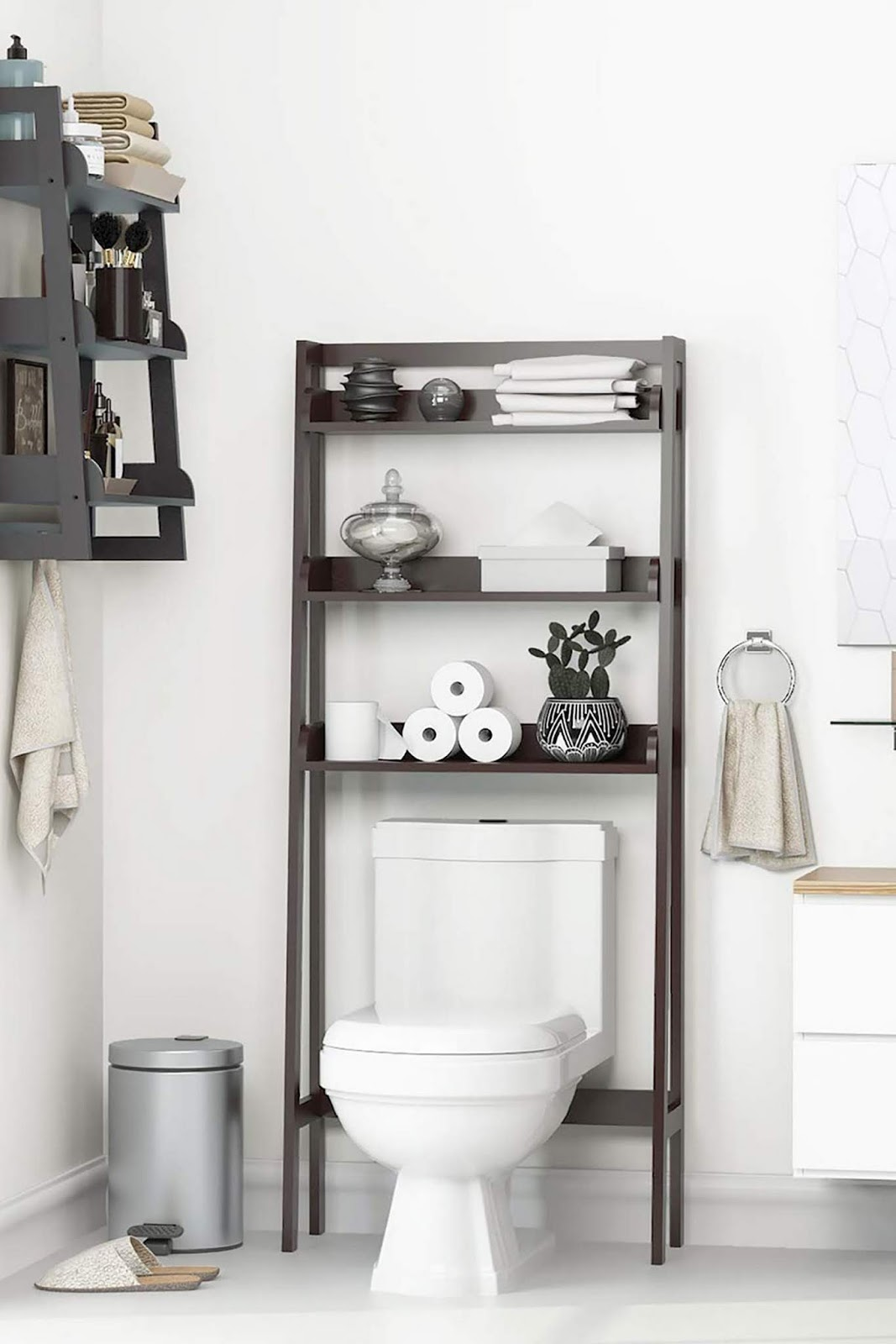 10 Cool Bathroom Arrangement Inspiration