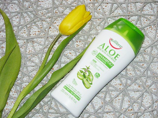 Recenzja: Nawilżający szampon aloesowy, Equilibra