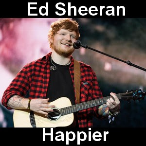 Ed Sheeran - Happier chords