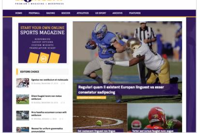 MH SportsMagazine, Theme SEO Cocok Untuk Portal Olahraga