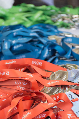 The finishers medals xtrail 2017