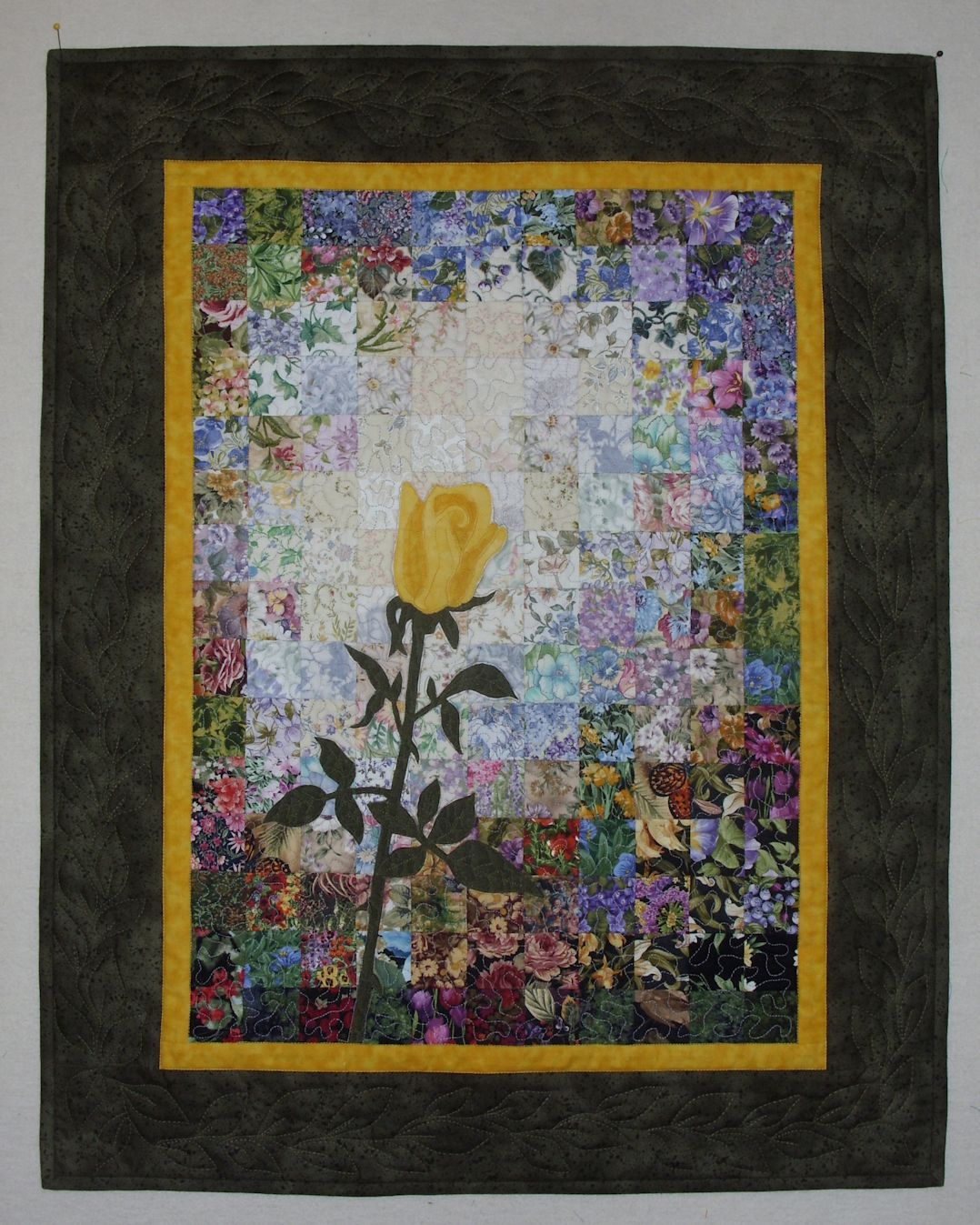 Elizabeth S Quilt Projects Watercolor Finish And New