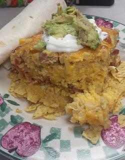 Mexican Breakfast Egg Bake