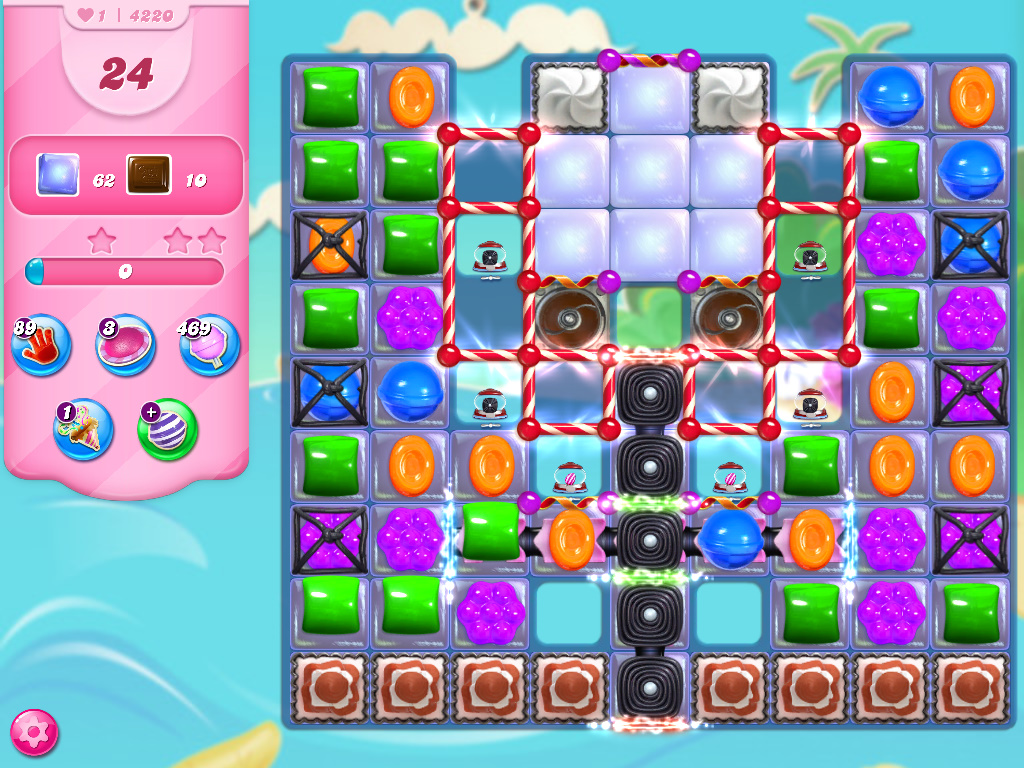 Candy Crush Saga level 422