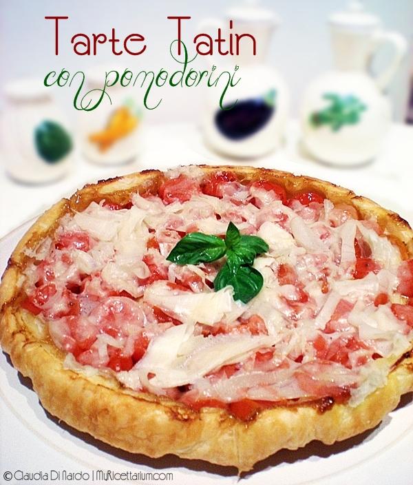 Tarte Tatin con pomodorini