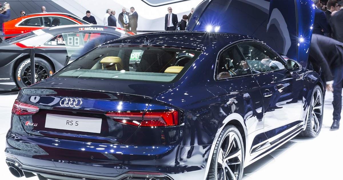 Audi apresenta cinco novidades no Salão de Genebra 2017