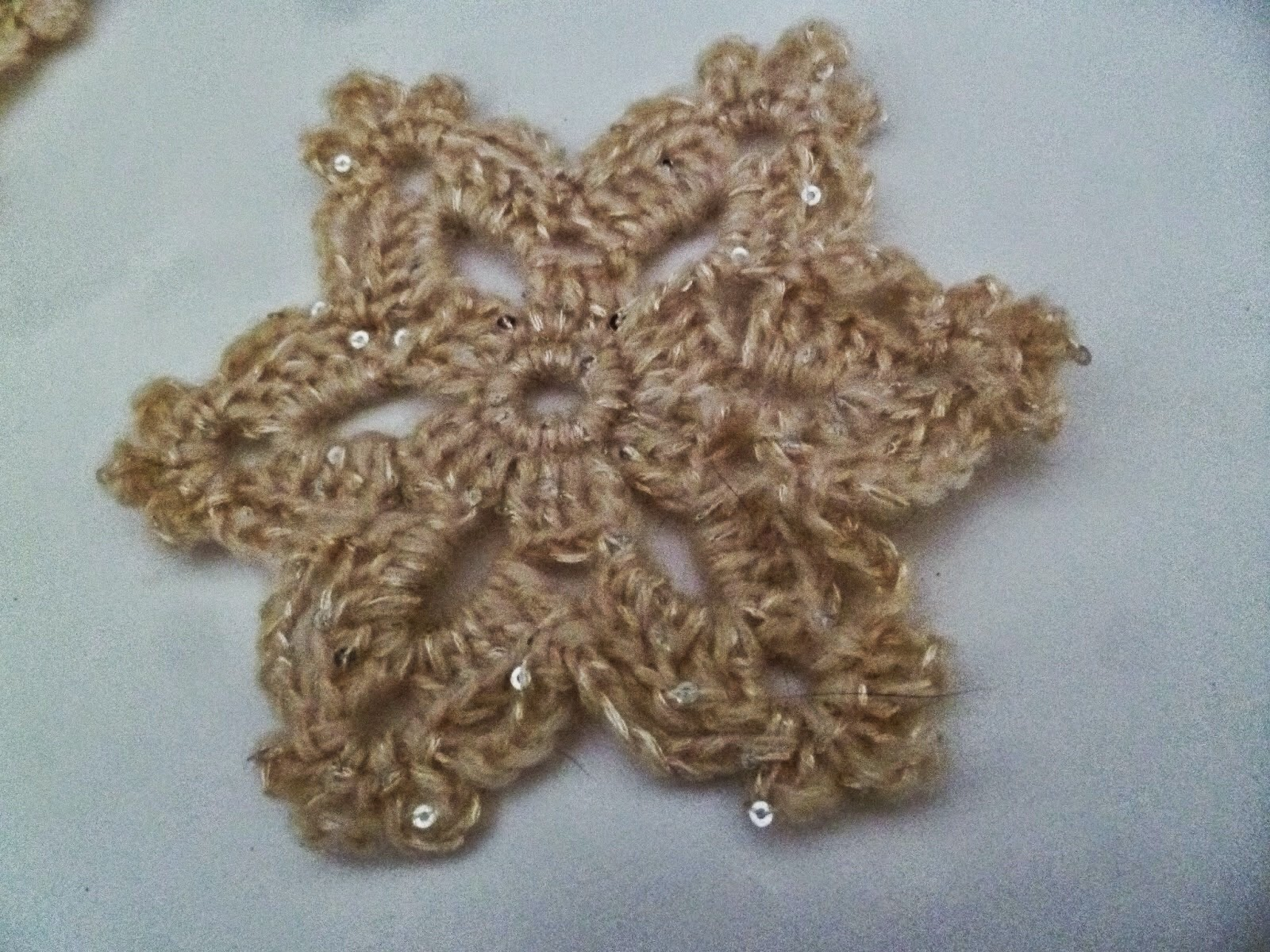 Snowflake/star Pattern