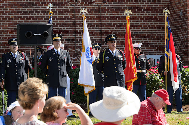 Veteran's Memorial Ceremony in Brevard, NC