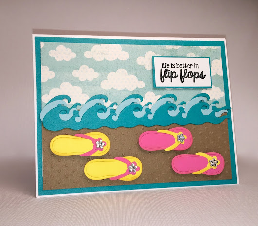 Flip Flop Fun - Scrapping Cottage