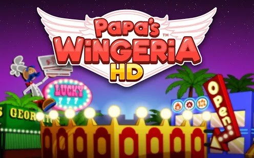 Papa's Wingeria HD Apk+Data Free on Android Game Download